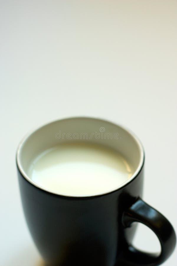 Milch - copyspace lizenzfreie stockfotos