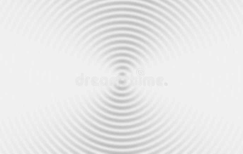 milch Wasserkräuselungen Digital-Daten und Netzkreisform vektor abbildung