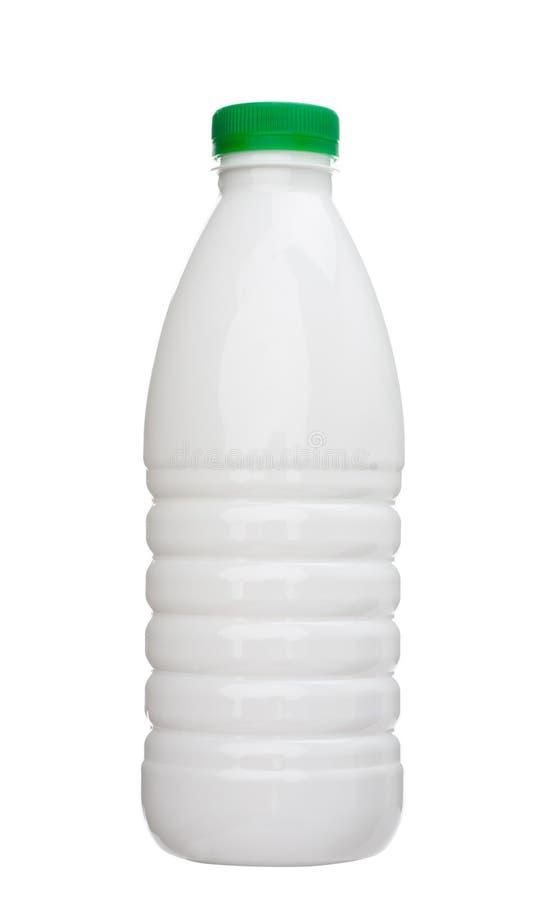 Milchflasche lizenzfreie stockfotografie