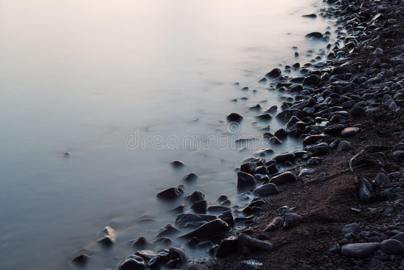 Milchiges Ufer lizenzfreie stockbilder