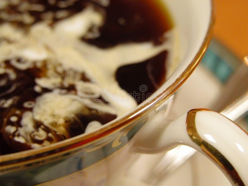 Milchkaffee Lizenzfreies Stockbild