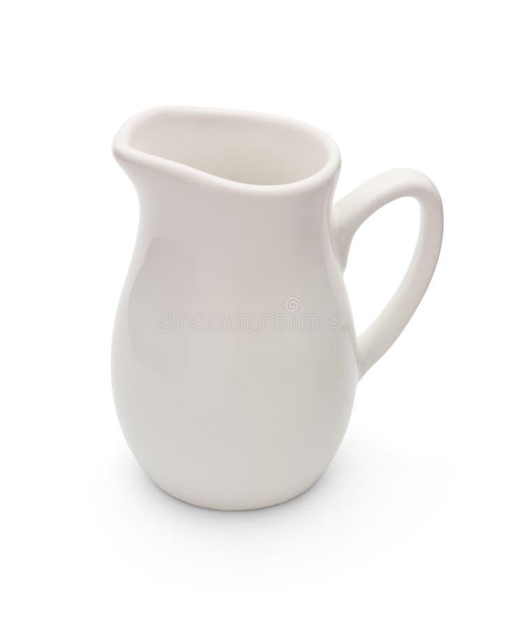 Milchkrug stockbild