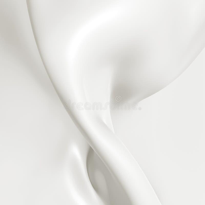 Milchnahaufnahme, abstrakter Hintergrund stockfoto