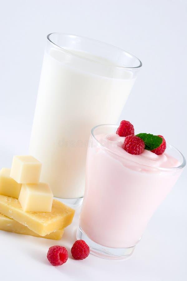 Milchprodukte lizenzfreies stockbild