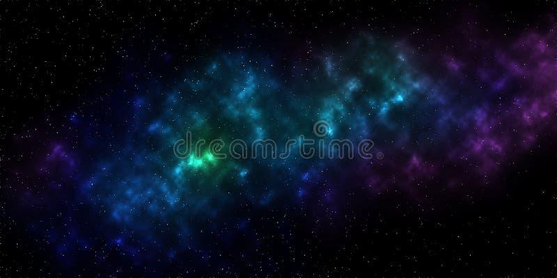Milchstraßegalaxie des Himmels der Zusammenfassungsbeschaffenheit sternenklare stock abbildung