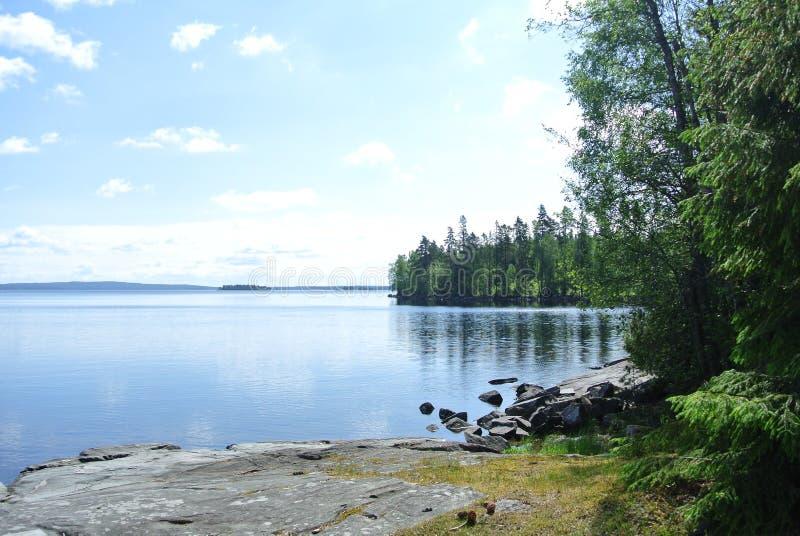 milczenie jezioro obraz royalty free