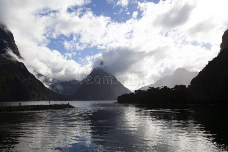 Mildford correct Nieuw Zeeland stock fotografie