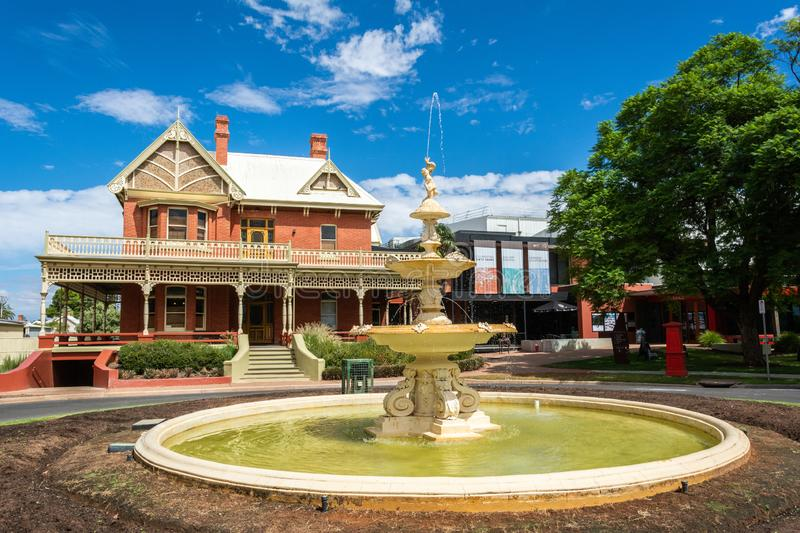 Rio Vista historic building in Mildura, VIC royalty free stock image