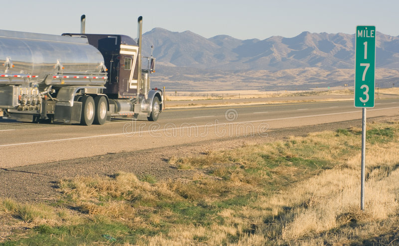 Mile 173 royalty free stock images
