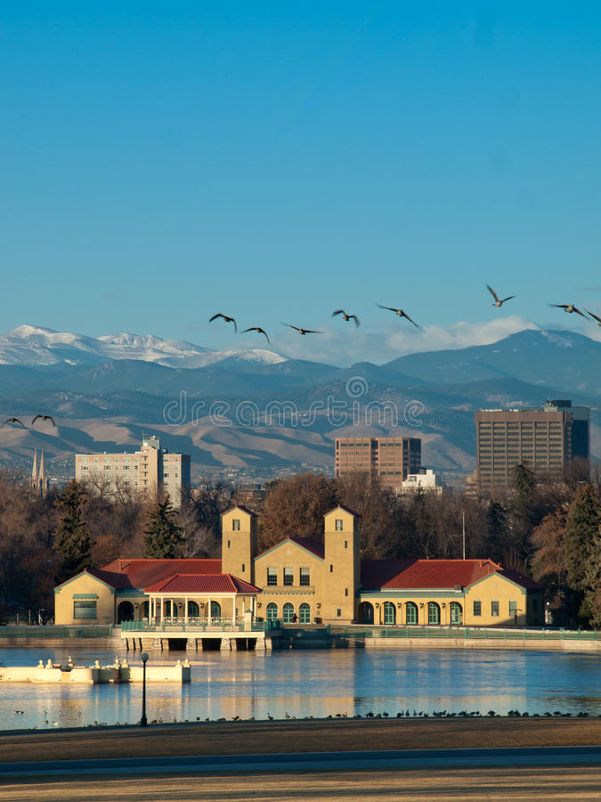 Mile High City of Denver stock photography