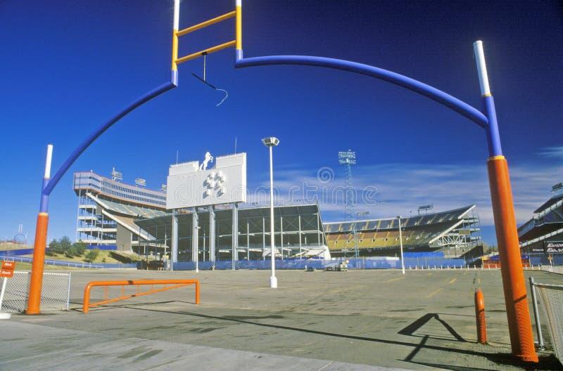 Mile High Stadium, dom Denver Broncos/NFL, Denver, Kolorado obrazy stock
