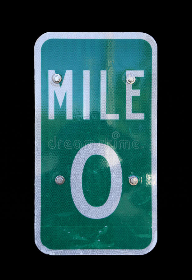 Free Mile Marker Zero Located In Key West, Florida Stock Photography - 36335402
