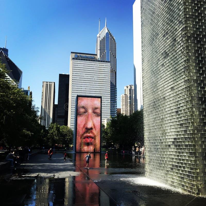Milenium park zdjęcie royalty free