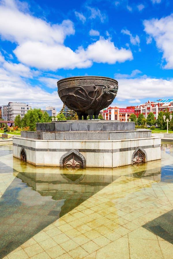 Milenium park Kazan zdjęcie royalty free