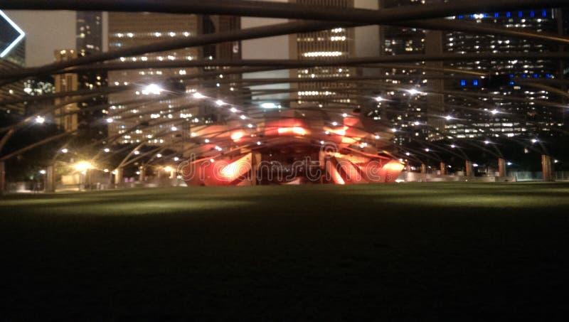 Milenium parka światła zdjęcie stock