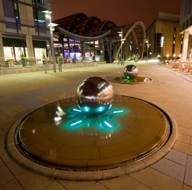 Milenium Uprawia ogródek Sheffield zdjęcia stock