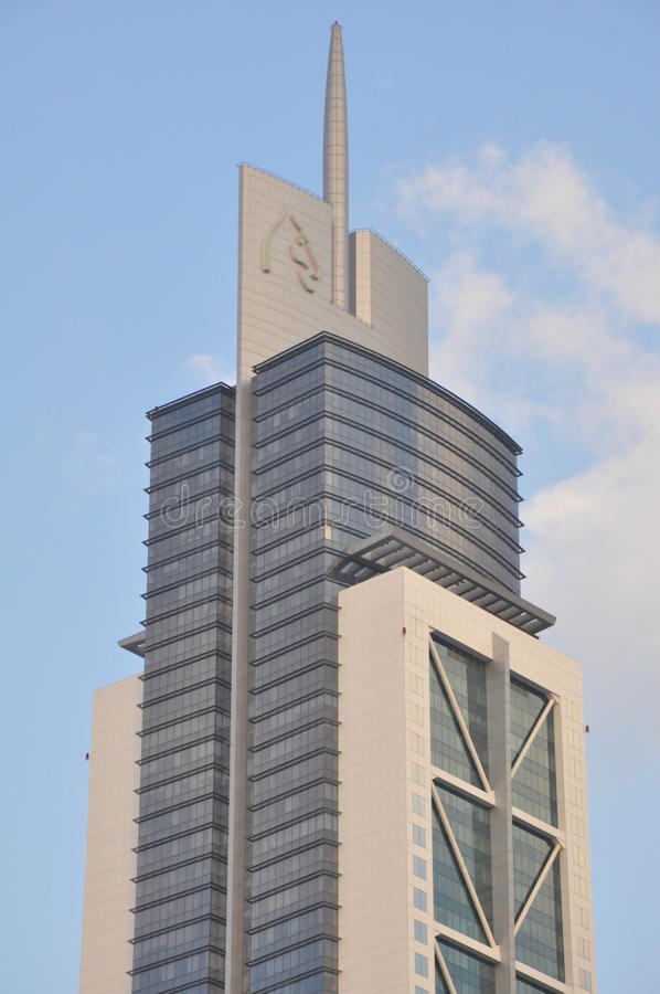 Milenium wierza w Dubaj, UAE obrazy stock