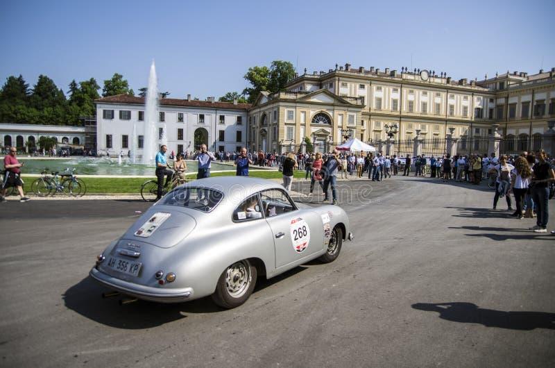1000 miles, Royal Palace, Monza, Italy stock photos