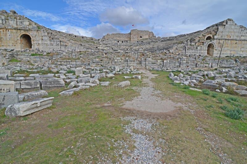 Mileto Roman Theater immagini stock libere da diritti
