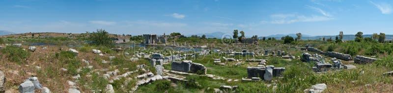 Miletus panorama royalty free stock image