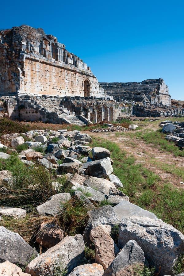 Download Miletustheater, Turkije stock foto. Afbeelding bestaande uit turkije - 54077564