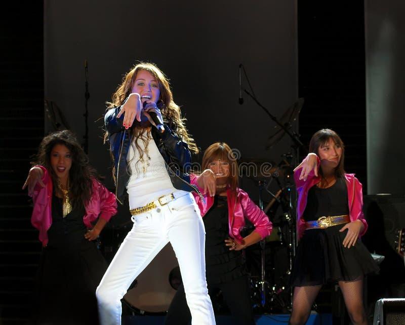 Miley Cyrus 13 fotos de archivo libres de regalías