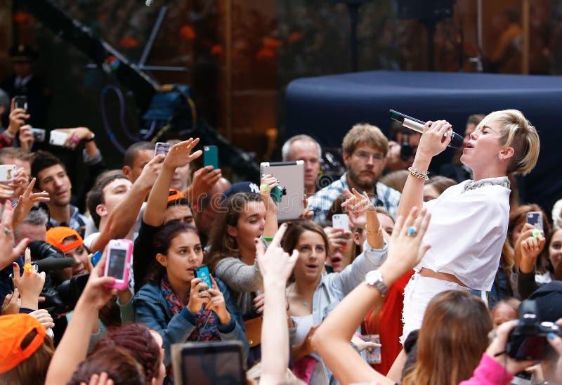 Miley Cyrus foto de stock royalty free