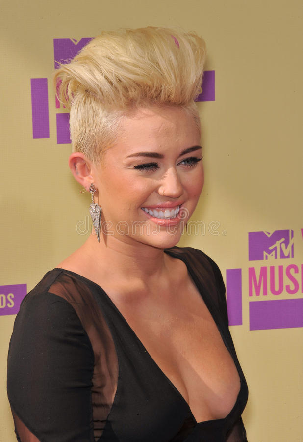 Miley Cyrus fotografia royalty free