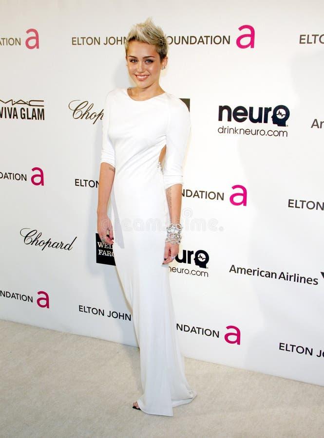 Miley Cyrus стоковое изображение
