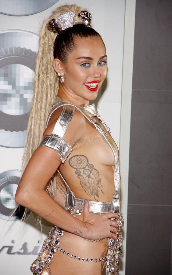 Miley Cyrus royaltyfri fotografi