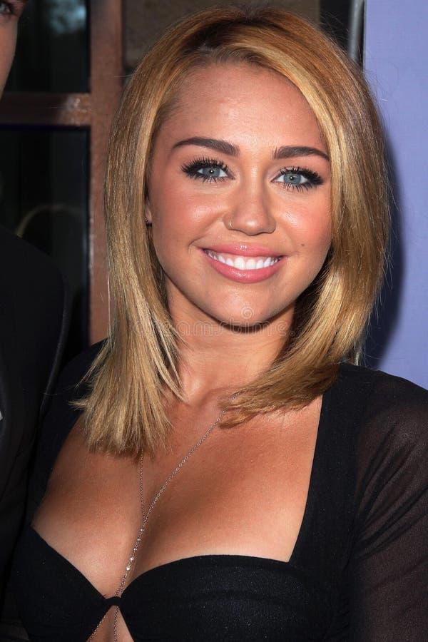 Miley Cyrus aux Australiens dans les 8èmes récompenses annuelles de découverte de film, hôtel intercontinental, ville de siècle, C image stock