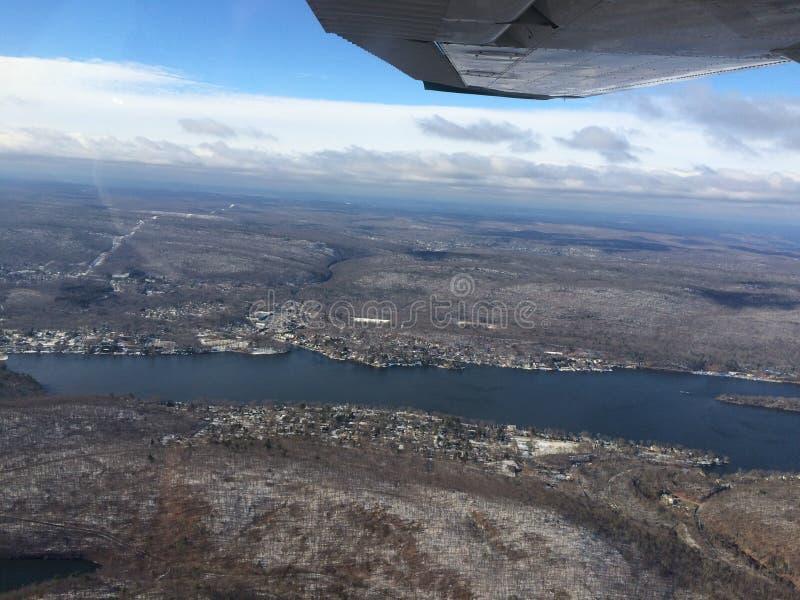 Milford ad ovest New Jersey immagini stock libere da diritti