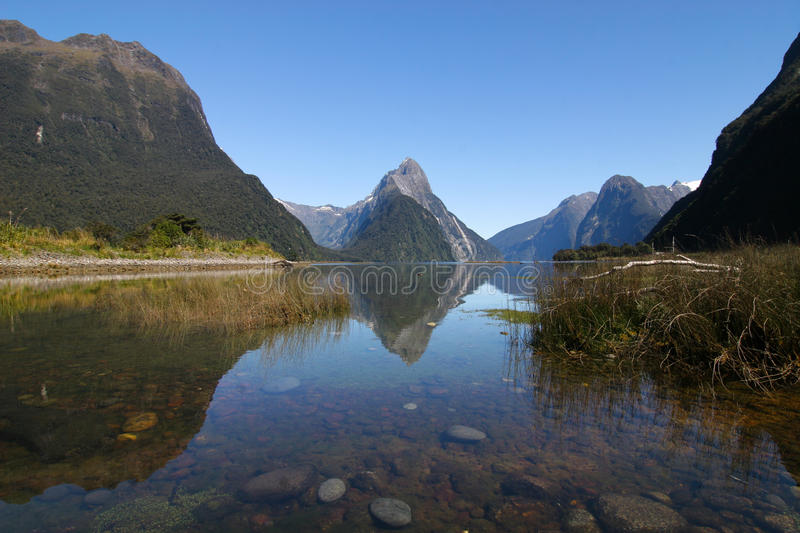 Milford Sound images stock