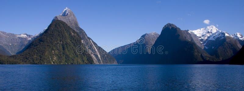 Milford Sound photos libres de droits