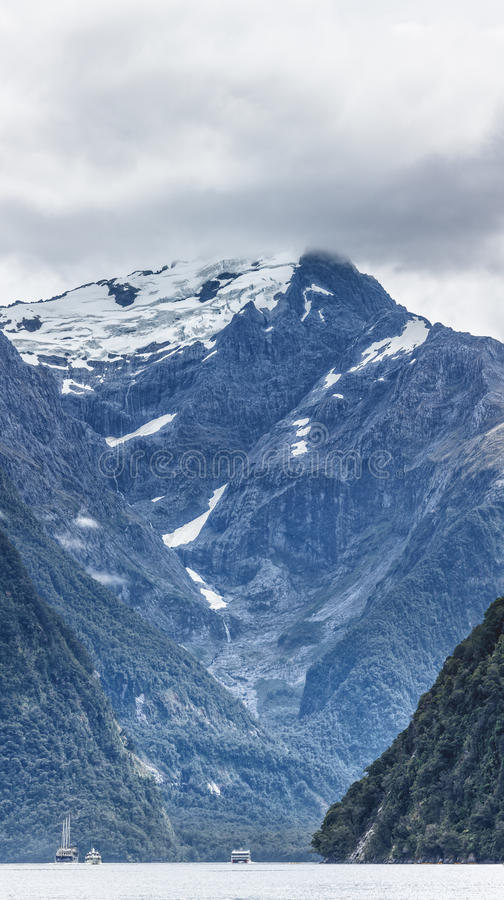 Milford sound royalty free stock images