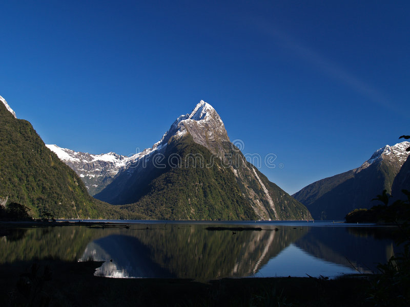 Milford Sound imagen de archivo libre de regalías