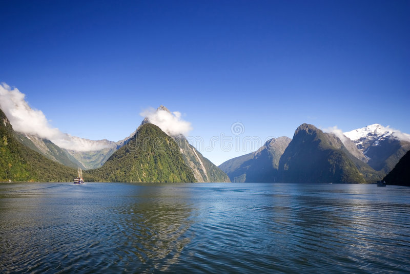 Milford Sound royalty free stock photo