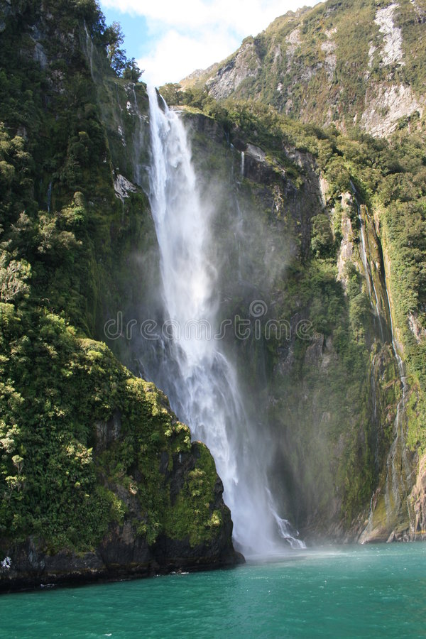Milford Sound stockfotos