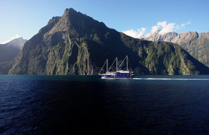 Milford Sound fotografie stock libere da diritti