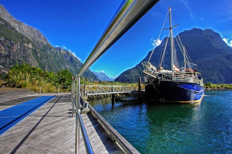 Milford Sound fotografia de stock