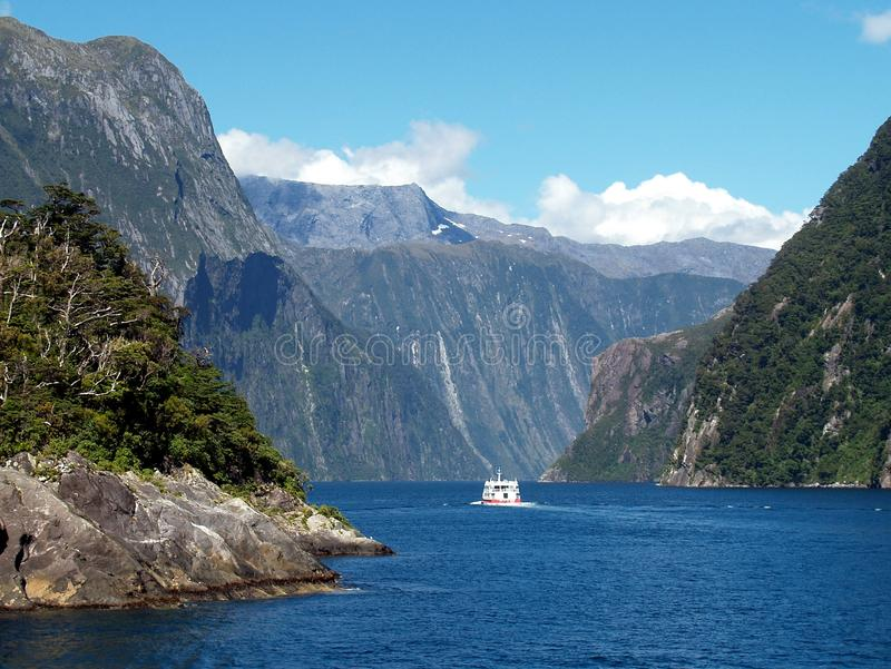 Milford Sound, New Zealand royalty free stock photography