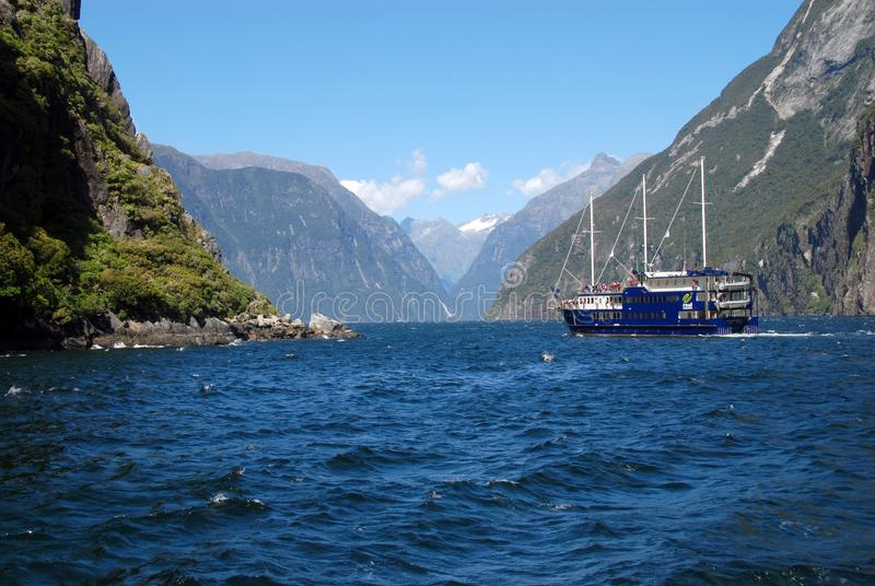 Milford Sound fotografia de stock royalty free