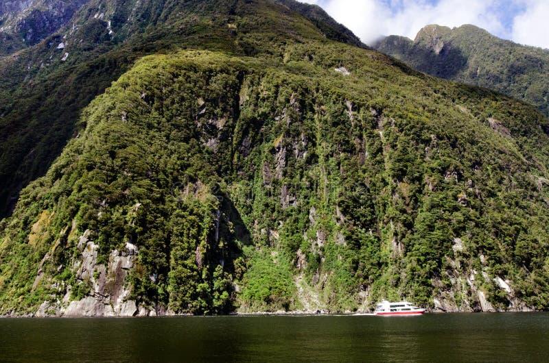 Milford Sound - Nueva Zelanda fotos de archivo