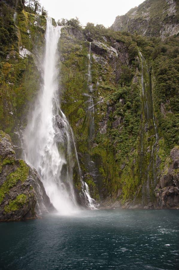 Milford Sound - Nueva Zelandia fotos de archivo