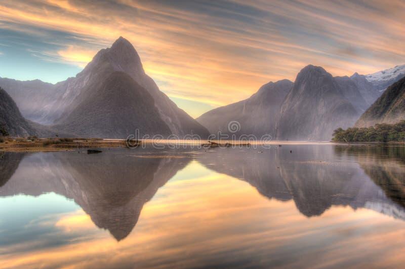 Milford Sound, Nuova Zelanda immagini stock