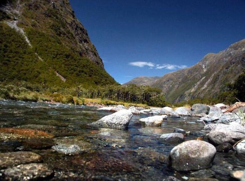 Milford Sound (32) stock image