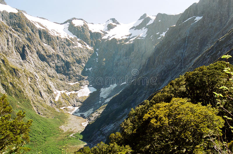 Milford track, New Zealand royalty free stock images
