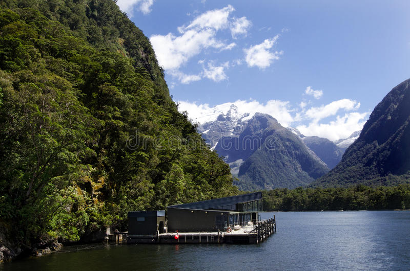 Milfordgeluid - Nieuw Zeeland royalty-vrije stock foto's