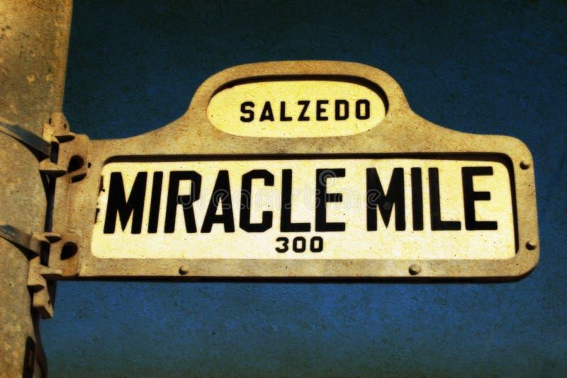 Milha do milagre imagens de stock