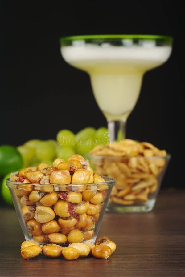 Milho Roasted Peruano (Cancha) Fotos de Stock Royalty Free